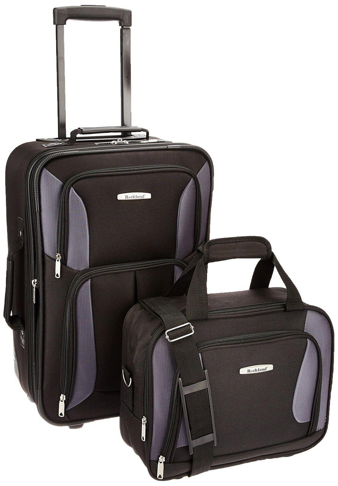 Luggage Set Expandable Heavy Duty Rolling Travel Suitcase Li