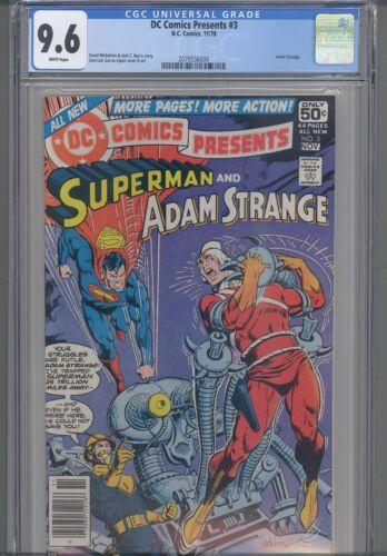 DC Comics Presents #3 CGC 9.6 1978 DC Adam Strange App : New Frame
