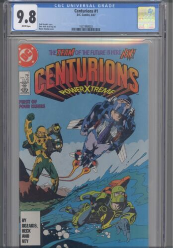 Centurions #1 CGC 9.8 1987 DC Kevin Nowlan Cover: New Frame
