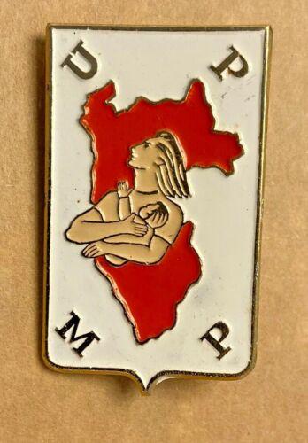 Peru Popular Union of Peruvian Women UPMP Communist party branch lapel pin badge