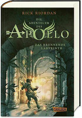Rick Riordan  Die Abenteuer des Apollo  Das brennende Labyrinth (2019, Gebunden)