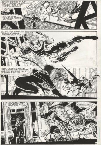 DETECTIVE COMICS ANNUAL #6 PAGE 49! JIM BALENT! GERRY FERNANDEZ!