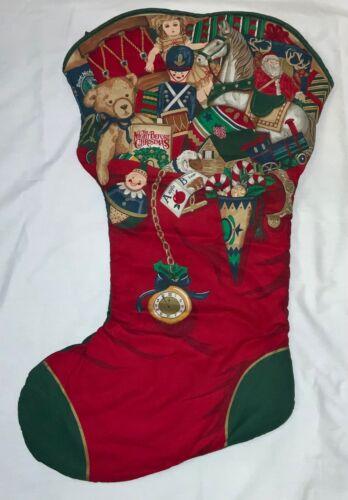 GIANT! COTTON CHRISTMAS STOCKING