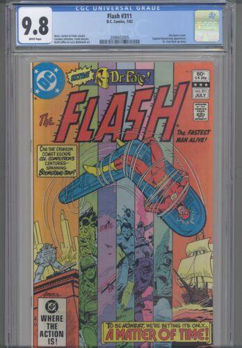 Flash #311 CGC 9.8 1982 DC Comic Captain Boomerrang App: New Frame