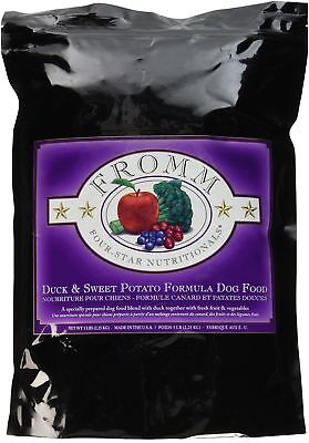 Fromm Four-Star Duck & Sweet Potato Dry Grain Free Dog Food (5 lb bag) FREE SHIP