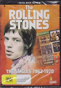THE ROLLING STONES - THE SINGLES 1962-1970 - DVD - NEW -
