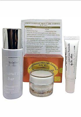 Dr Alvin Rejuvenating Set Professional Skin Care Formula