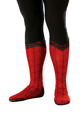 Spiderman Deluxe Boot Covers Adult 34496](Spiderman Adult)