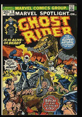 Marvel Spotlight #9 VF 8.0 Comics Ghost Rider!