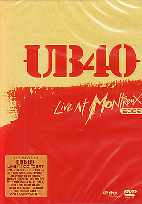 UB40 live at montreux 2002 (the best of ub40 live in concert) DVD NEU OVP ()