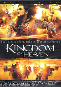 Kingdom of Heaven (DVD, 2005, 2-Disc Set, Widescreen)  New