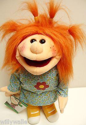 """Living Puppets  Handpuppe  Hannachen  ca.38 cm  mit kleinem Schmutzfleck """"NEU"""""""