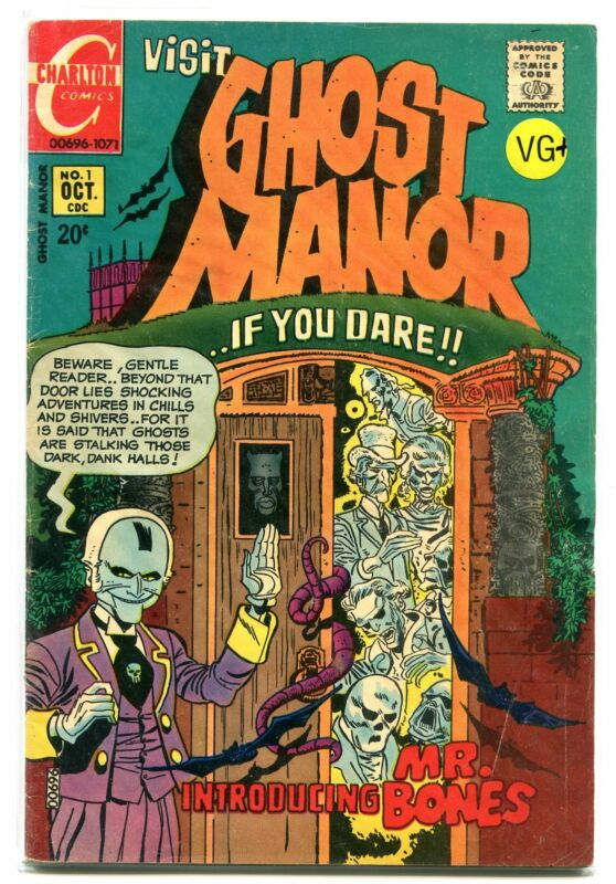 GHOST MANOR # 1