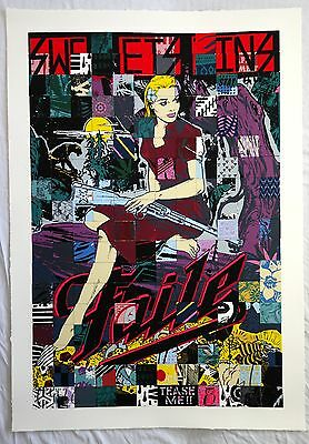 "Used, Faile ""Sweet Sins Brooklyn"" 2015 - RARE SOLD OUT Screenprint. XX/500 for sale  Shipping to Canada"