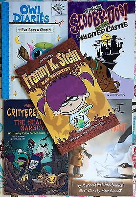 Lot of 5 chapter books about Halloween & scary stuff VGC Paperback](Scary Halloween Stuff)