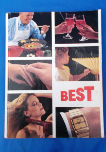 Vintage Best Products 1987 Catalog Jewelry,General Merchandise,Home Gifts.