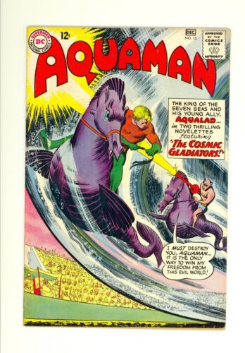 Aquaman #12 5.5 (OW/W) Fine Minus DC Comics 1963 Silver Age