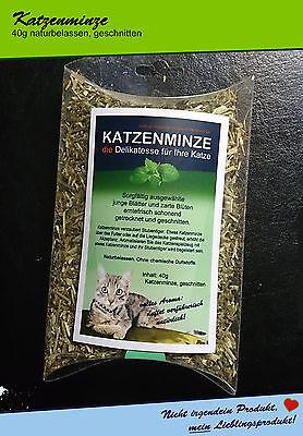 Katzenminze / catnip / 40g lose / DIE Delikatesse duftet verführerisch natürlich