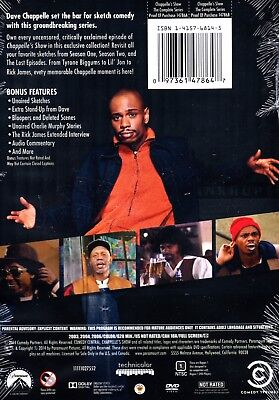 CHAPPELLE'S SHOW THE COMPLETE SERIES 6 DISC DVD SET REGION 1 NEW & SEALED