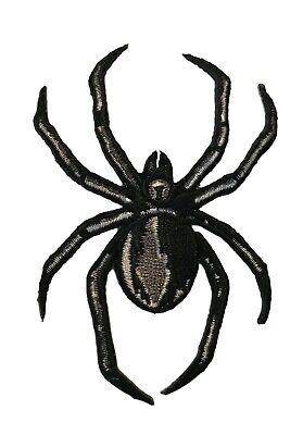 Black Widow Cosplay Costume (Black Widow Spider Iron On Patch Cosplay Biker Costume)