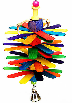 Big Gonzo pet bird parrot toy cage toys mini macaw senegal amazon -
