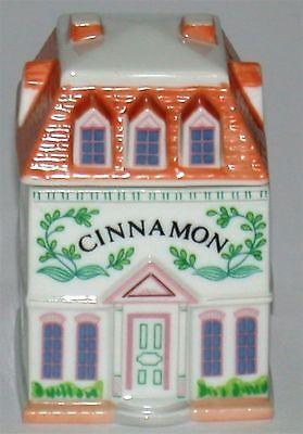 Lenox Porcelain Village Spice Jar ~ Cinnamon ~ 3.25