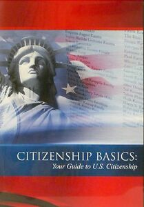 U.S. Citizenship Test Study Guide Textbook, DVD, and CD:  Citizenship Basics