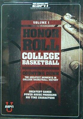 Espn Honor Roll College Basketball Vol 1 Shaq Magic Johnson Valvano Vitale Tark