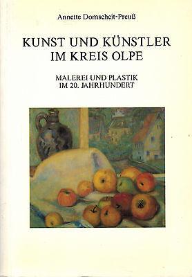 Land-malerei (Domscheit-Preuß, Kunst Künstler Kr. Olpe Sauerland, Malerei Plastik 20. Jhd. '91)