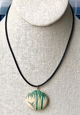 China/'s exquisite handcrafted Ceramic Pendant Necklace