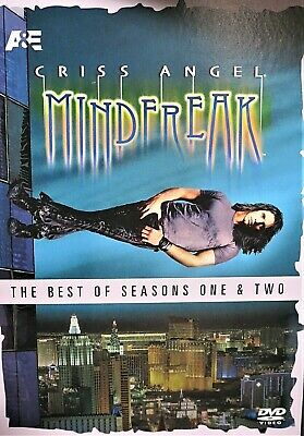 Criss Angel - Best of Seasons One Two NEW! DVD,Mindfreak,Live Magic Over 3