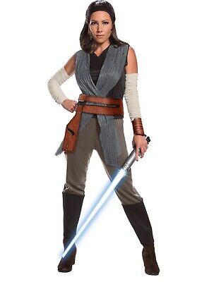 NEW Star Wars The Last Jedi REY Costume Adult Women's Ladies Cosplay