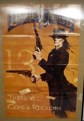 1996 Pinnacle Entertainment Deadlands Rpg Promo Advert Poster 22X34  Art By Brom