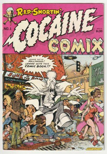 Cocaine Comix #1 - 1975 Last Gasp - Classic Underground