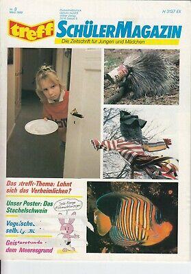 n, Heft 3/1988 Zeitschrift für Jungen / Mädchen, gr. Poster (Zeitschriften Für Jungen)