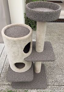 5 Tier Deluxe Kitten & Cat Tower Sippy Downs Maroochydore Area Preview