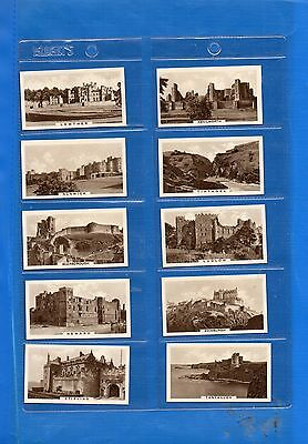 *CASTLES*Full Set of 25-C/W Sleeves-Cope Brothers-EXC.