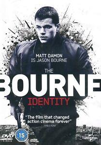 The Bourne Identity DVD Extended Edition Matt Damon is Jason Borne