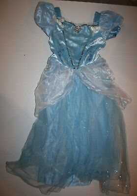 NEW Disney Store Princess Cinderella Child Costume Size 9-10 Year Girl Halloween (Baby New Year Halloween Costume)