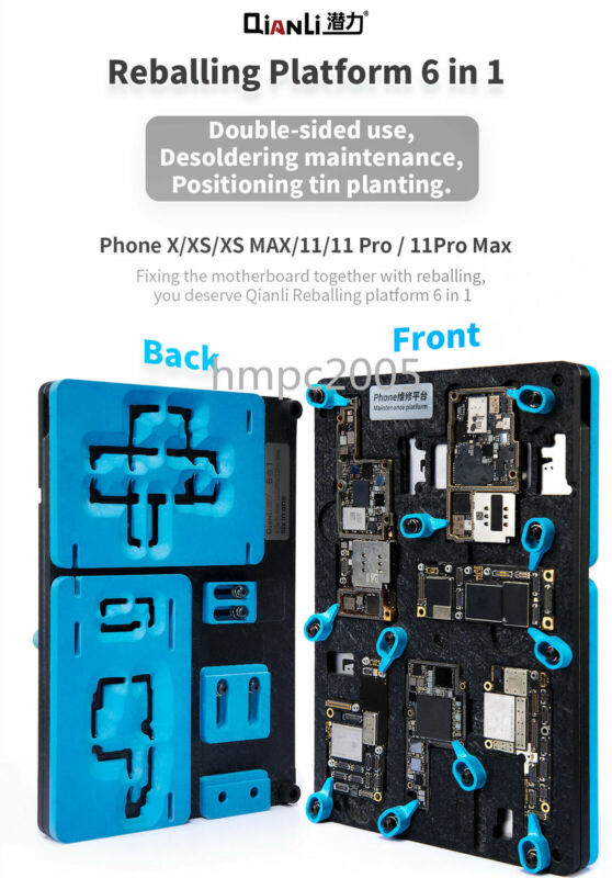 Qianli Middle Frame Reballing Platform for iphone X XS MAX 11 11Pro Max Fixture