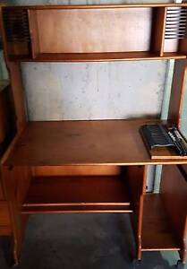 Computer Desk, Desk 4 drawers, Chest 7 drawers, Hutch 3 drawers Erina Gosford Area Preview