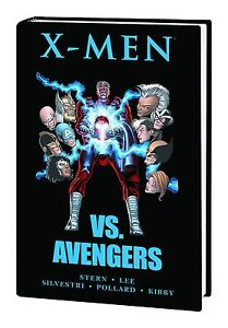 X-MEN-VS-AVENGERS-HARDCOVER-Marvel-Comics-1987-Mini-Series-1-4-HC-NEW