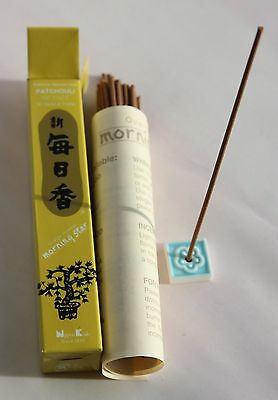 Japanese Incense Sticks | Morning Star | Patchouli | 50 Sticks | Nippon Kodo