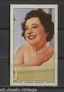 Yvonne-Arnaud-Vintage-Movie-Film-Star-Trading-Card-1935-Gallaher-26