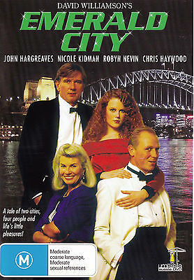 Emerald City John Hargreaves   Nicole Kidman Dvd Region Free   New   Pal