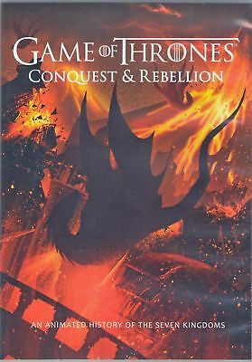 Game Of Thrones  Conquest   Rebellion  Dvd  2017    Usually Ships In 12 Hours