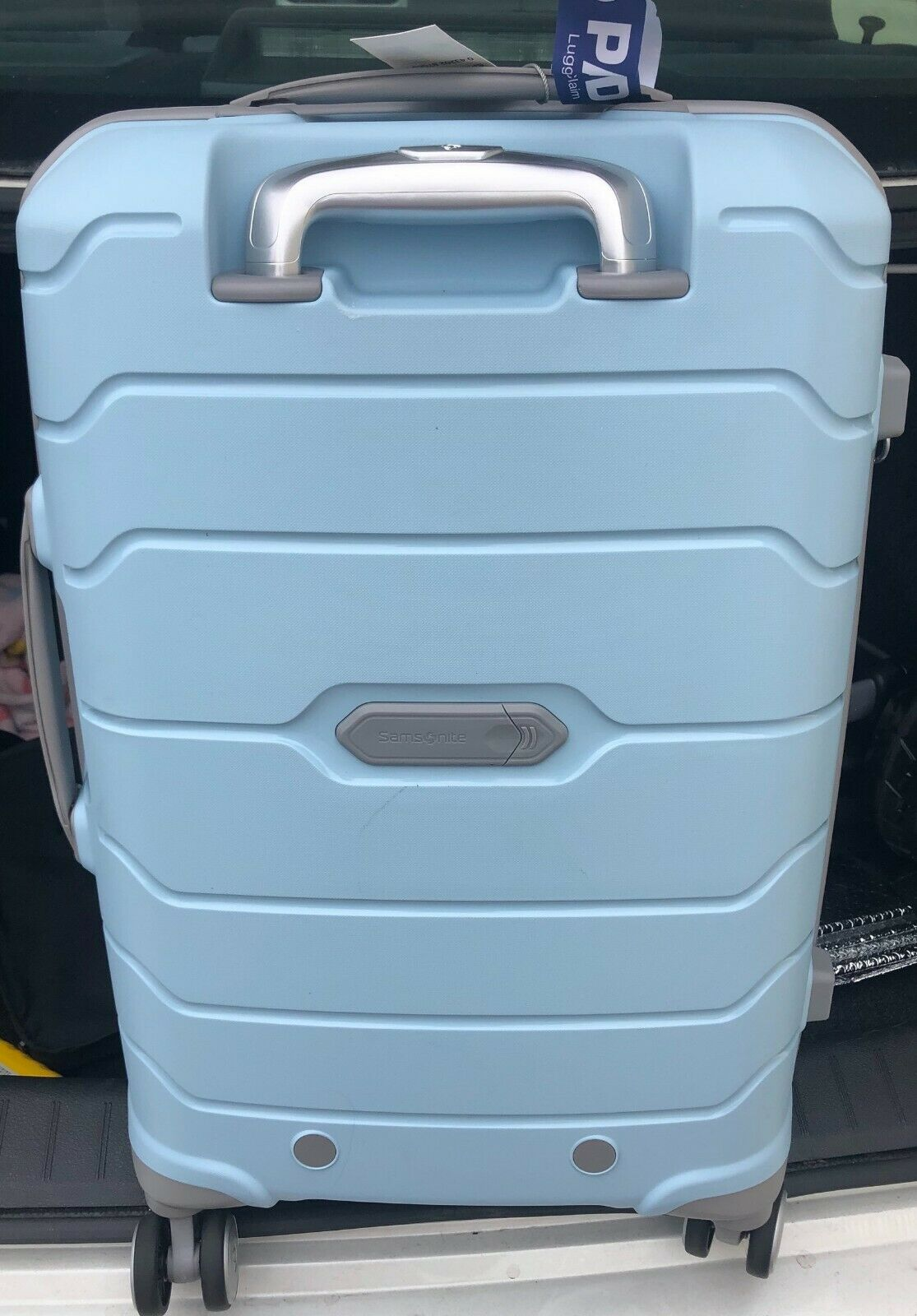 "Samsonite Freeform 21"" Carry-Ons - Sky Blue"
