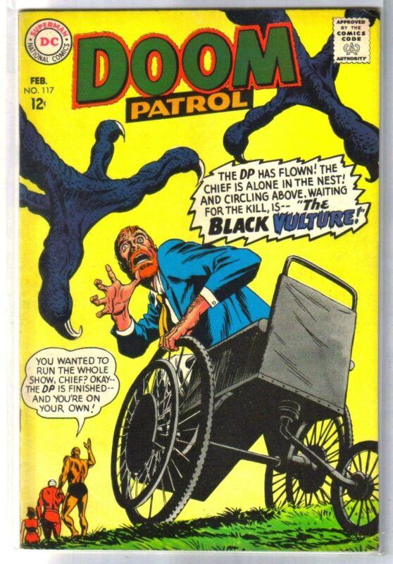 DOOM PATROL #117 The Black Vulture! DC Comic Book ~ VF