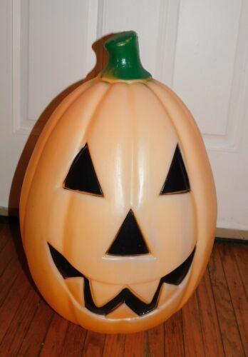 Empire Plastic Blow Mold Halloween Pumpkin Jack-O-Lantern
