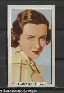 Margaret-Lindsay-Vintage-Movie-Film-Star-Trading-Card-1935-Gallaher-36
